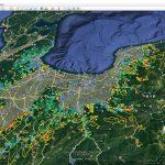富山県「土砂災害警戒区域」をグーグルアースで「3D見える化」